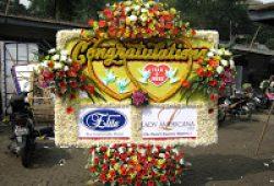 Bunga Pelantikan Gubernur Jawa Barat Baru
