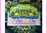 Kirim Bunga Duka Cita ke Serang Banten